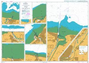 British Admiralty Nautical Chart 1349: North Coast of France, Ports in the Baie de Seine