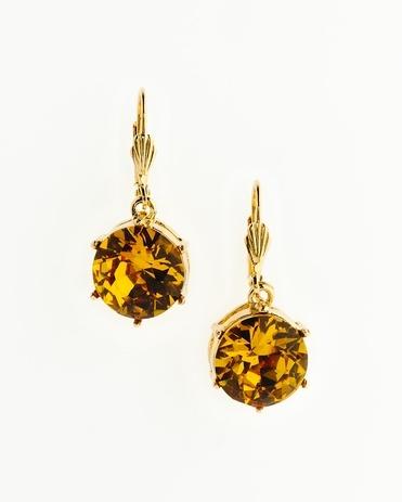 Jewel drop earrings - [K16097] $49.99 on sale for $39.99