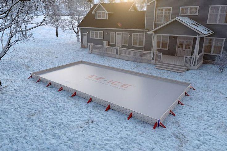 EZ-Ice - dein Eishockeyplatz für Zuhause