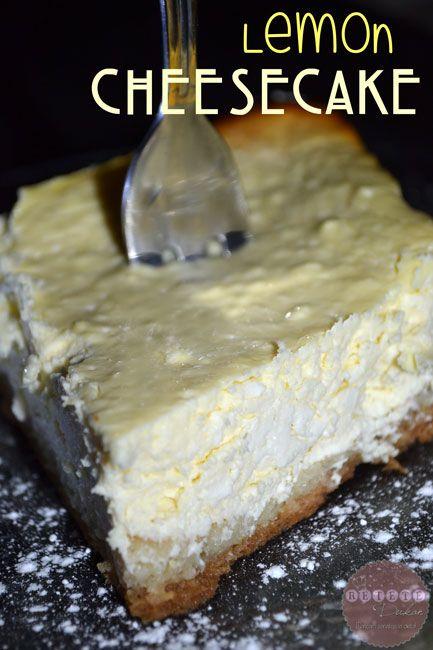 citrón-tvarohový koláč
