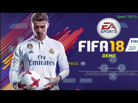 Download FIFA 18 ISO PPSSPP ISO Zip File – Android Version 2018