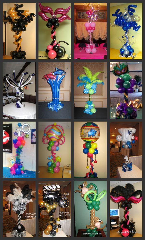 unique balloon centerpieces