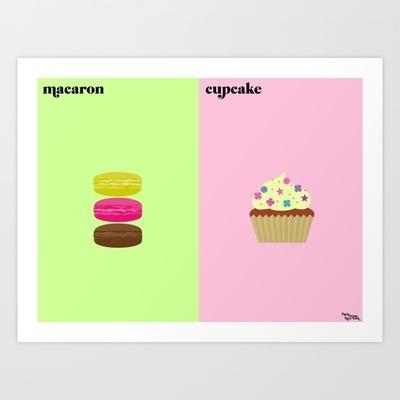 Macarons / Cupcake