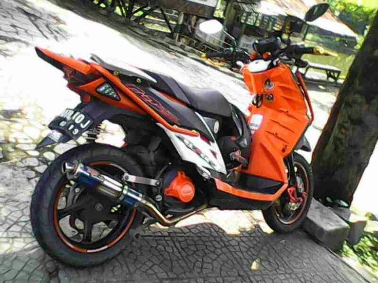 Yamaha X Ride Modifikasi Adventure  tahun ini