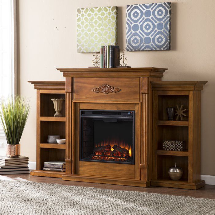 Boyer Electric Fireplace Fireplace Bookshelves Electric