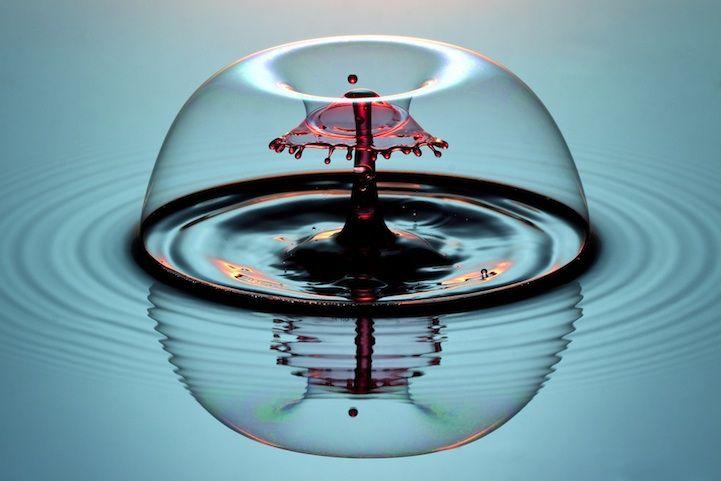 The Liquid Drop Sculptor - My Modern Metropolis
