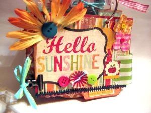 hello sunshine.Sun Book, Minis Book, Book Worth, Hello Sunshine, Chipboard Book, Good Mornings Sunshine