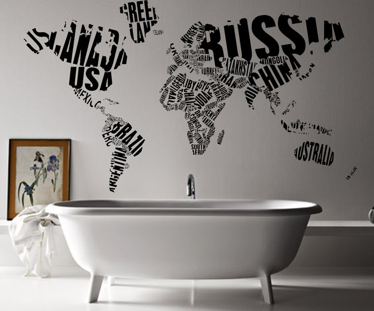 This wall art from atLoudDesigns (via Etsy) is like graffiti refined!