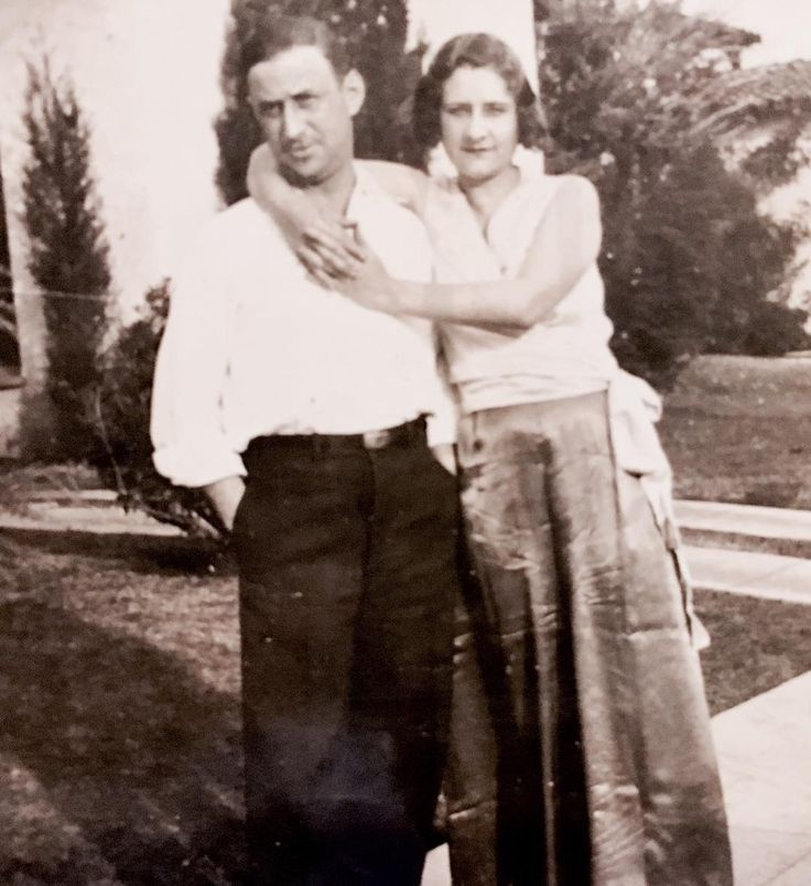 Bill Mumy's grandparents. From his Instagram: 1930's. My grandparents, Harry & Alma Gould, in front of their home in Los Angeles, about three miles from my house. Harry was Boris Karloff's agent when this pic was taken. Their house is still there and almost exactly the same today. After Harry died I shared a bedroom with my grandmother til I was four years old. Her snoring kept me up for years. ✌