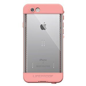 Amazon.com: Lifeproof NÜÜD SERIES iPhone 6s ONLY Waterproof Case - Retail Packaging - FIRST LIGHT (PINK JELLYFISH/CLEAR/SEASHELLS PINK): Cell Phones & Accessories