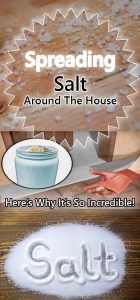 Spreading Salt Around The House – Here's Why It's So Incredible! – Health Mind
