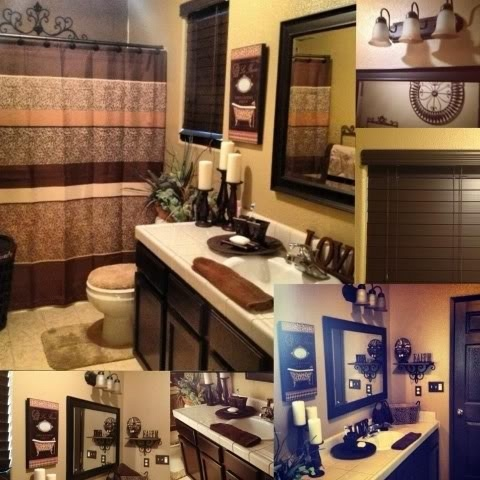 Diy bathroom get stain in espresso bathroom decor iron for Espresso bathroom ideas