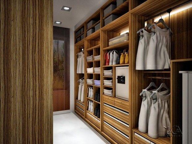 23 idées de dressing pour votre loft