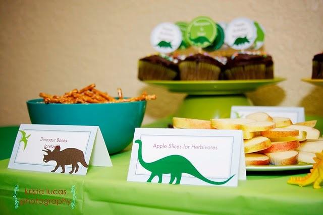 Dinosaur Birthday Party Food
