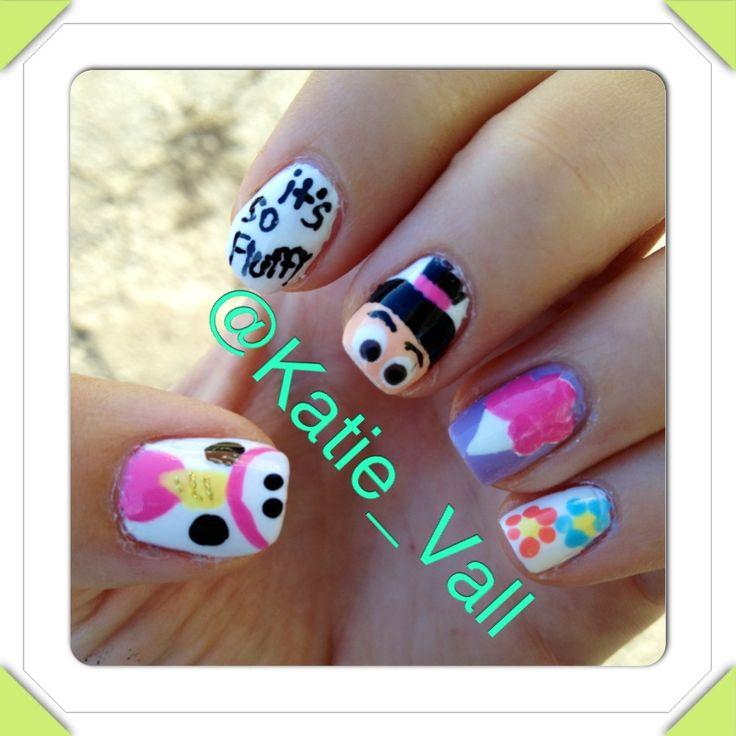 despicable me unicorn nails - photo #3