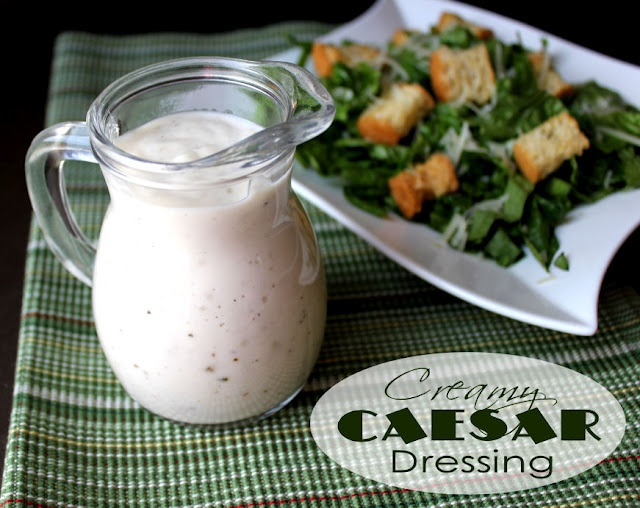 how to make caesar dressing from ranch