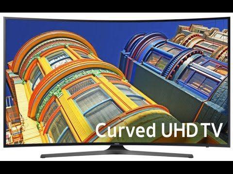 """Hot Samsung UN65KU650D 65"""" Class 4K UHD Curved TV Overview"""