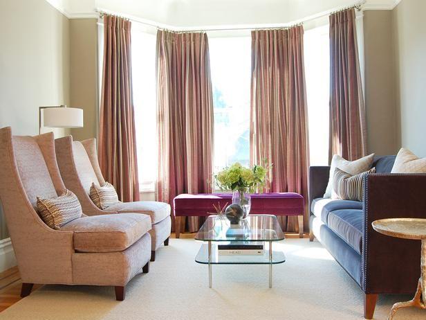 Jennifer JonesBays Windows, Contemporary Living Room, Living Rooms, Furniture Arrangements, Chairs, Living Room Design, Livingroom, Bay Windows, Small Spaces