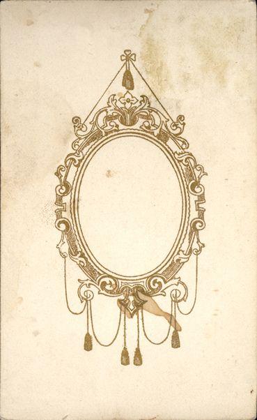 oval filigree frame tattoo - Google Search