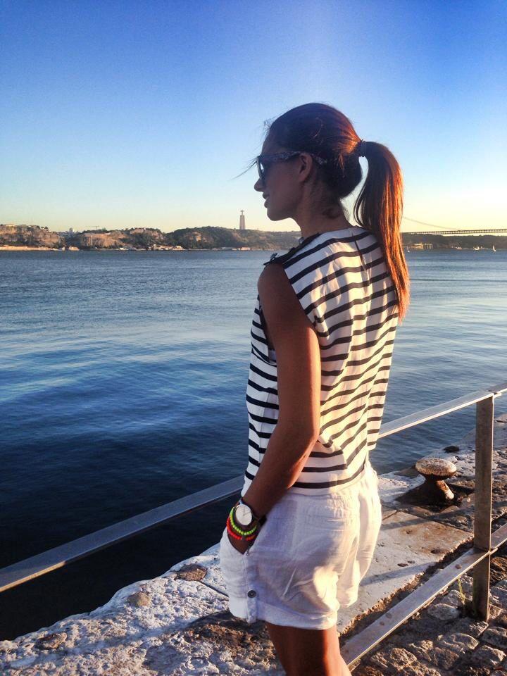 Claudia Vieira! Vista Lisboa  Outfit casual and trendy