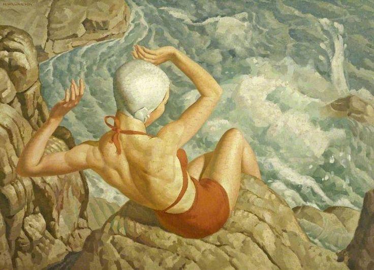 Spray by Harold Williamson (1898–1972)