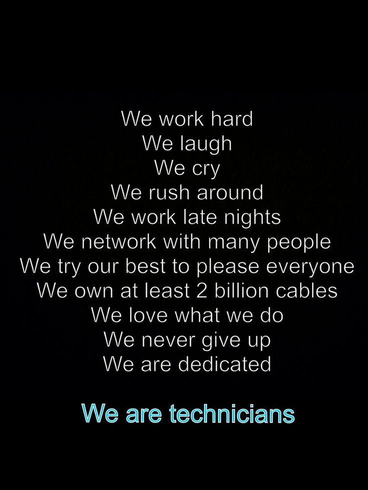 Techies. Theatre quotes, Technical theatre, Tech quotes