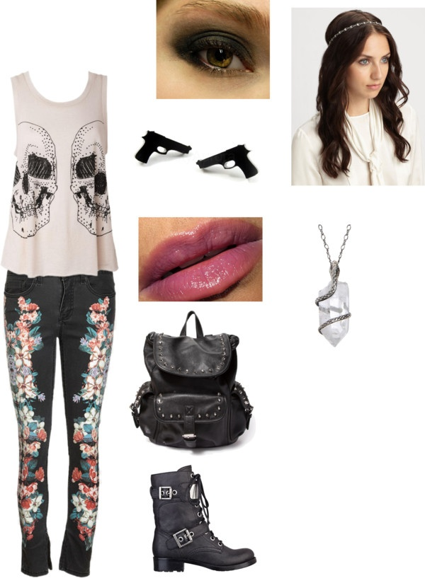 Its A Bit Girly Cute Outfits Pinterest Scene Polyvore And Girly