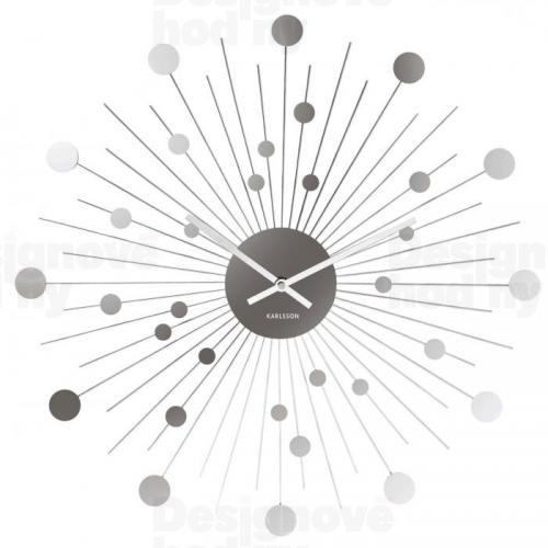 Designové nástěnné hodiny 5178 Karlsson 50cm  Kliknutím zobrazíte detail obrázku.