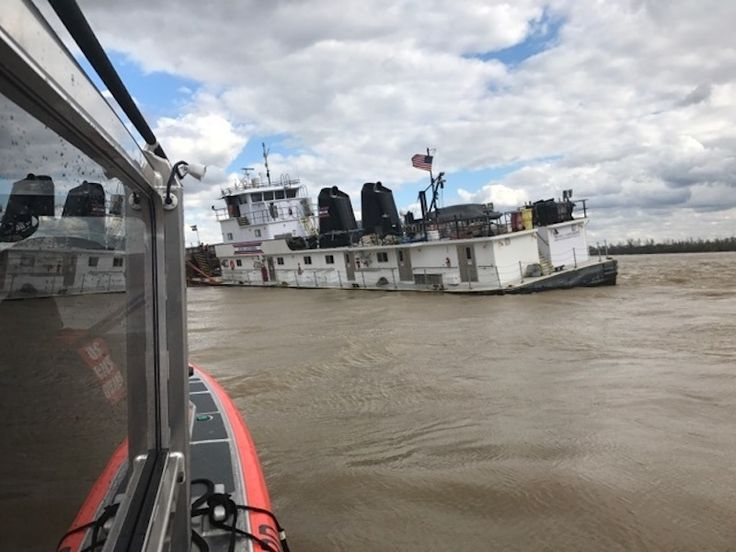 Barge Accidents Shut Parts of Mississippi Ohio Rivers