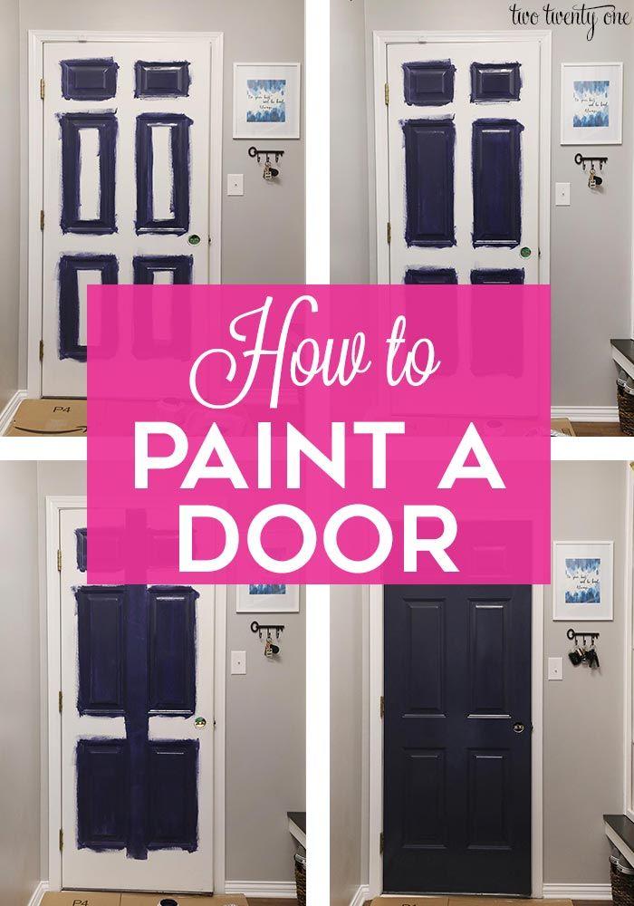 How To Paint A Metal Door Painting Metal Doors Metal Door Metal Doors Exterior