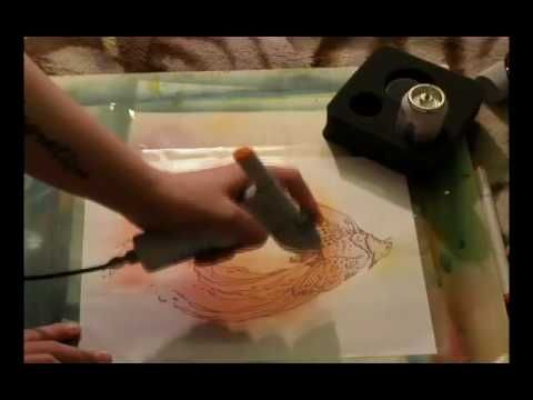 Copic Airbrush 101 - YouTube