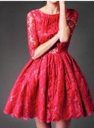 Red at Night Dress