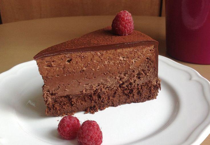 Absolutní čokoládová bomba, výhradně pro milovníky čokolády a navíc bez lepku. Základ dortu tv...