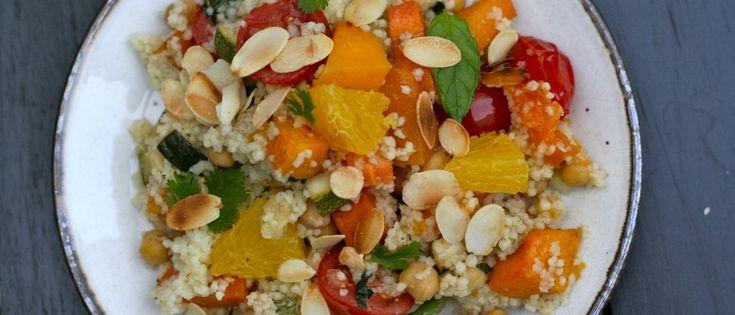 Smeuïge couscous met butternut en sinaas | Donderdag Veggiedag