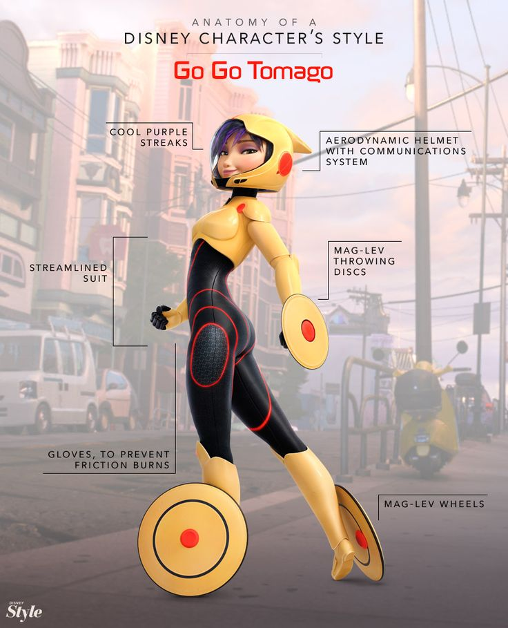 Anatomy of a Disney Character's Style: Big Hero 6 Edition Next Halloween costume?