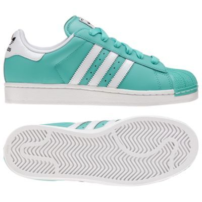 Fantastic Beautiful Adidas Superstar II Women Shoes Blue White Adidas Shoes