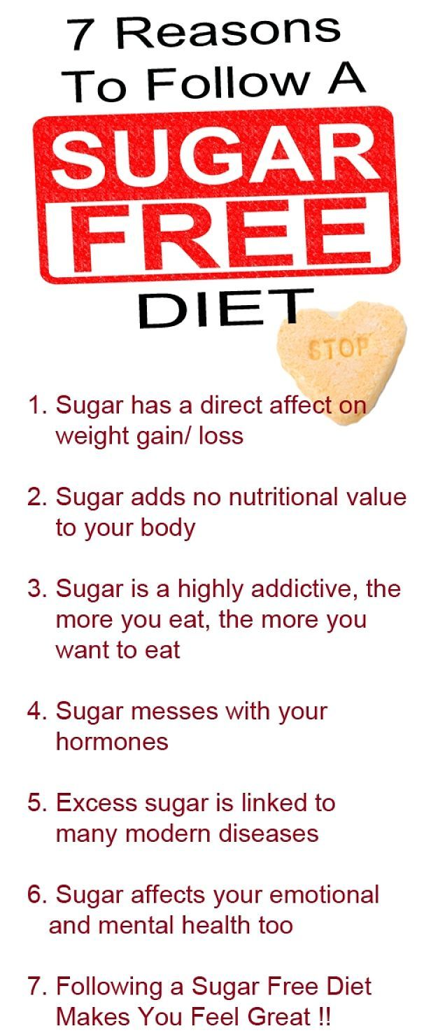Why you should eliminate or drastically reduce sugar in your diet.