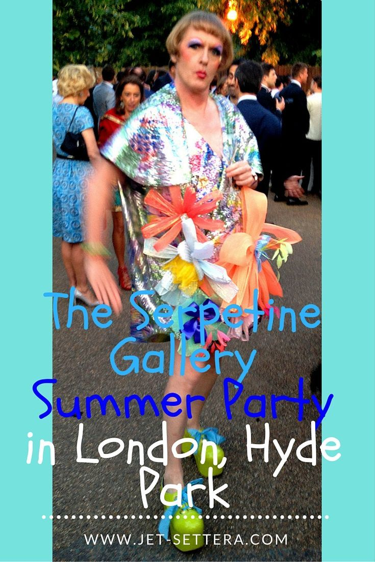 Read more about the Serpentine Gallery London - The Summer Party in Hyde Park is…