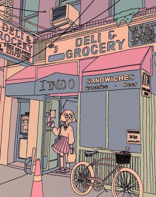 "luxjii: "" deli & grocery """