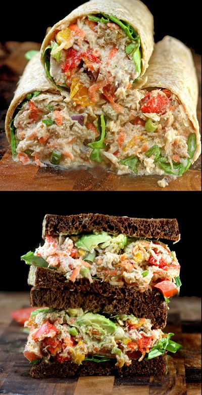 "Loaded Chicken Salad with Garlic Greek Yogurt Ranch ""Mayo"""
