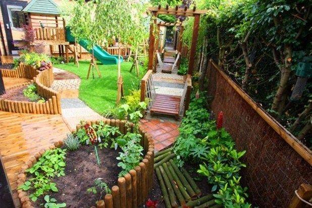 36 Popular Landscaping Backyard Playground Ideas Backyard