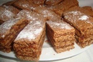 Prajitura cu miere si crema caramel - Culinar.ro