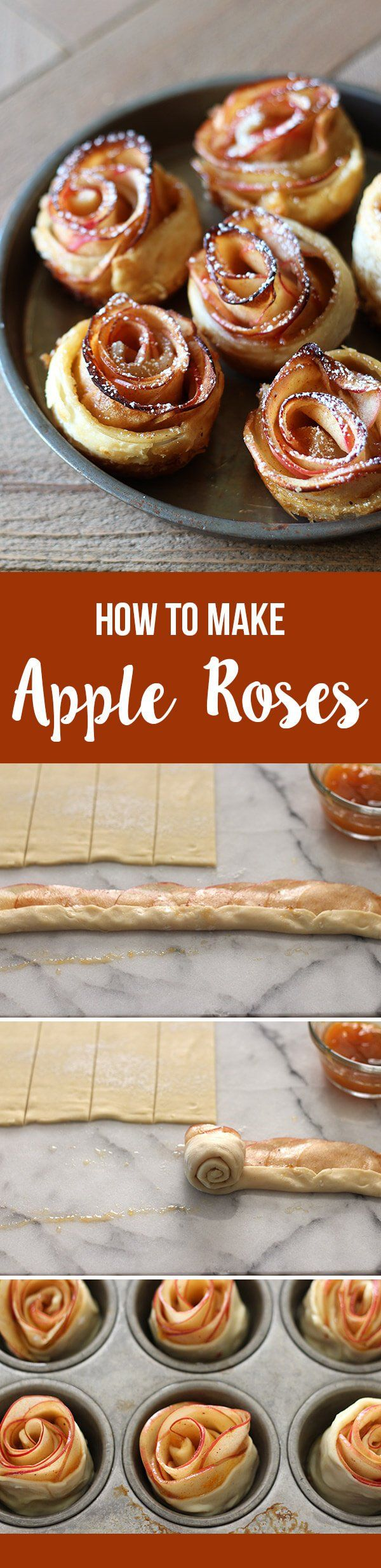 How to Make Apple Roses - Handle the Heat