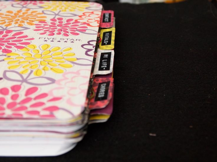 Altered Composition Notebook Planner – 2014