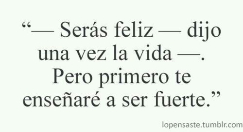 Y me sigue enseñando... #frase #espanol