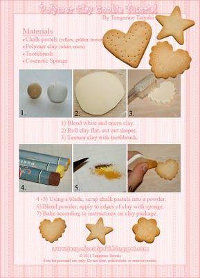 Tangerine Taiyaki: Decoden Sugar Cookie Polymer Clay Tutorial