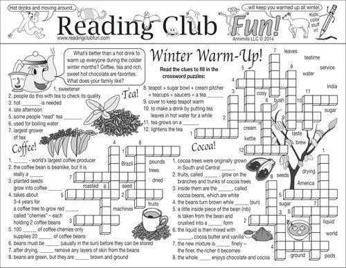 Enjoy a Winter Beverages and Activities (Indoor & Outdoor)-themed Two-Page Activity Set and Math Puzzle with this discounted bundle! Includes the following products:  • Winter Beverages and Activities (Indoor & Outdoor) Two-Page Activity Set • Party Planning Budget Math Puzzle • Indoor & Outdoor Get-Together Reading Log and Certificate Sets