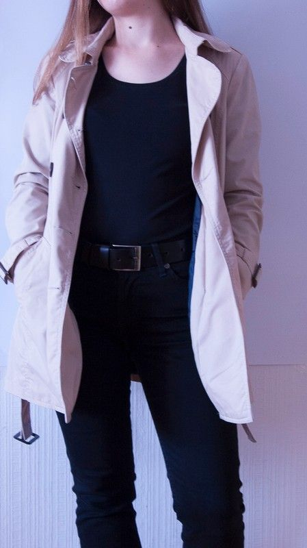 Perfect beige trench for autumn and spring #trench #coat #classic #spring #beige #ootd
