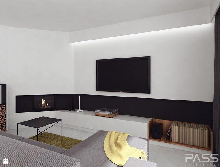 Salon styl Minimalistyczny - zdjęcie od PASS Architekci - Salon - Styl Minimalistyczny - PASS Architekci
