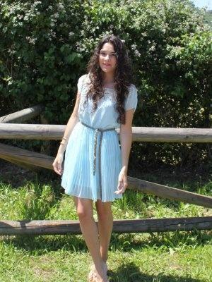 Vestido azul tiffany 75%